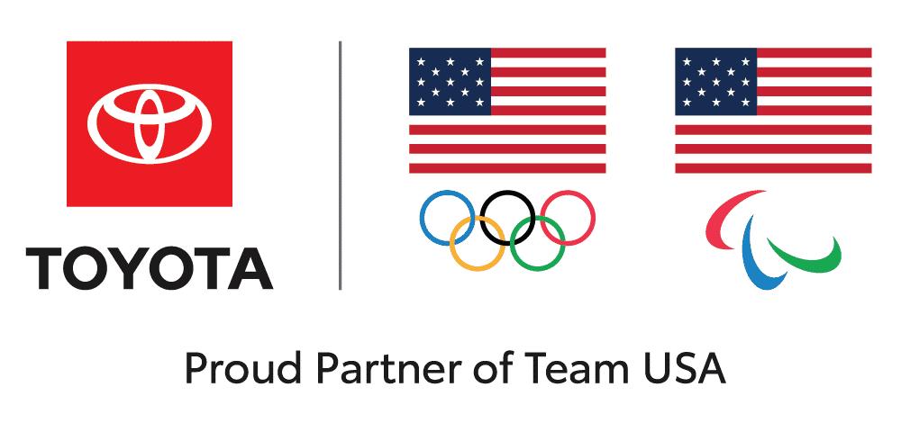 Toyota Olympic Partner Logo