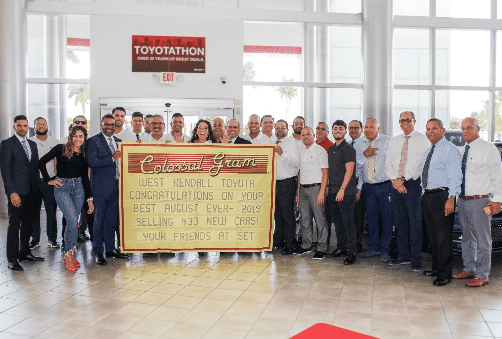 West Kendall Toyota Group Pic